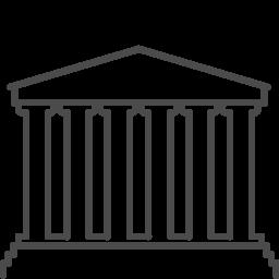 Greece acropolis icon