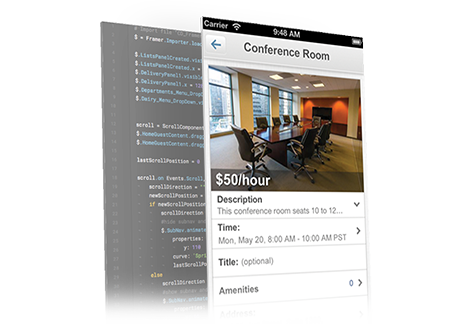 LiquidSpace interface