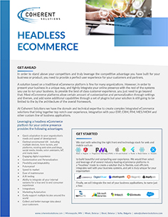 eCommerce from Coherent Solutions